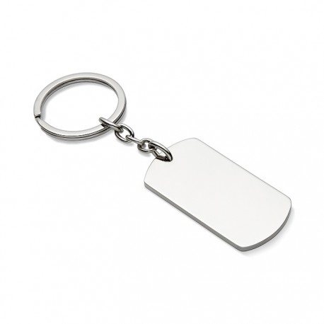 MEDAL - Metal key ring plate