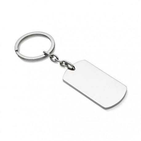MEDAL - Metal key ring plate