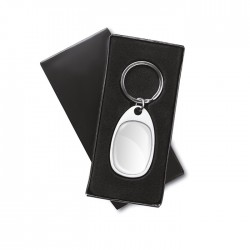 OSWALDO - Zinc alloy doming keyring