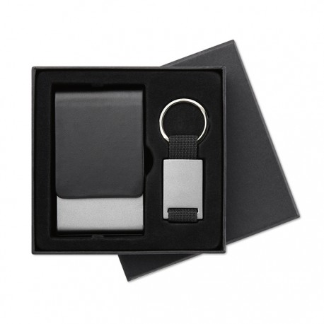 KOBE - Key ring and card holder set