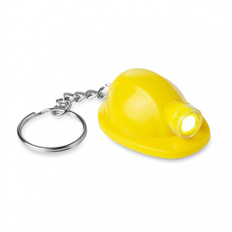 MINERO - Key ring made of ABS in workers helmet shape