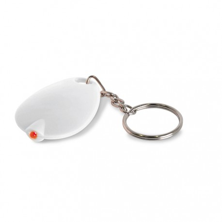 TOTTEN - Keyring with flat LED light
