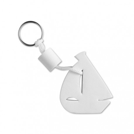 BARCO - Floating key ring in ship shape