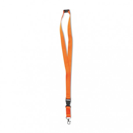 NEON LANY - Lanyard with metal hook