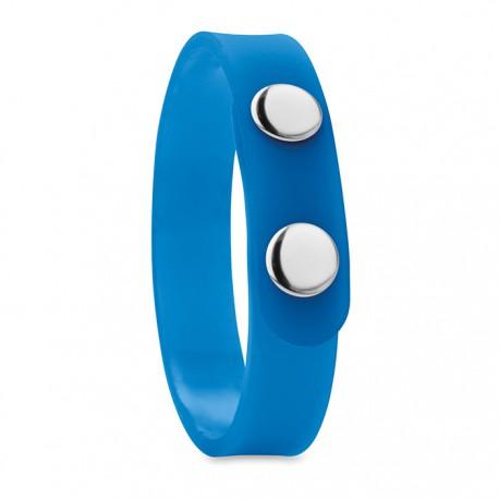 FENNA - PVC snap button bracelet
