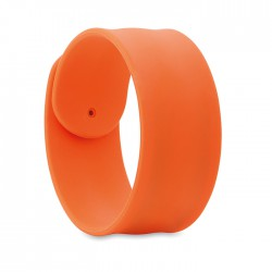 LIDIA - Silicone snap bracelet
