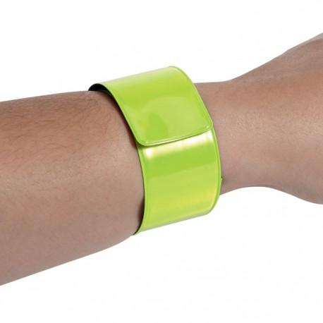 Reflective wrist strap