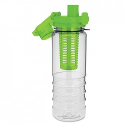 BPA free bottle with a compartment inside