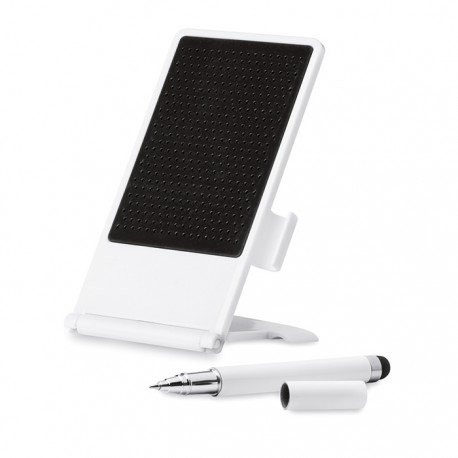 STANDY - Foldable smartphone stand with anti-slip pad.