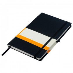 A5 Notebook with expandable pocket