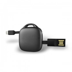 Portable Power Bank With Charging Cable