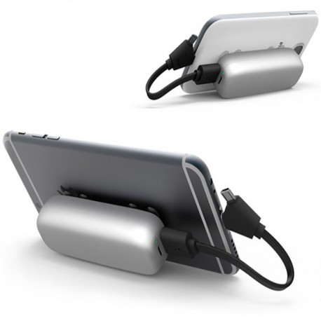 Portable external power bank for smartphone