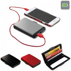 cardholder with powerbank