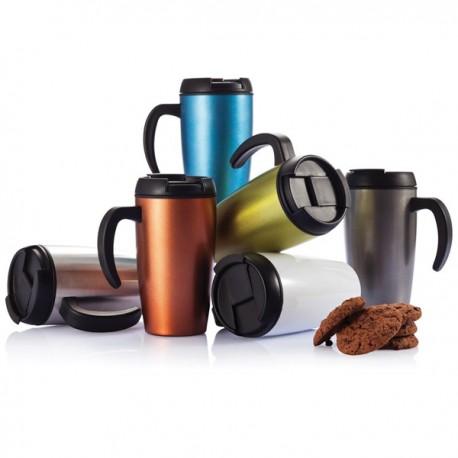 Metal exterior mug