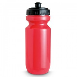 SPOT TWO - Sport drinking bottle in translucent coloured PE plastic