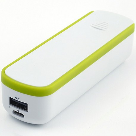 Powerbank with built-in storage compartment