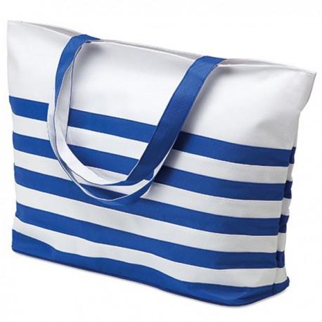 ANTIBES - Bicolour beach bag