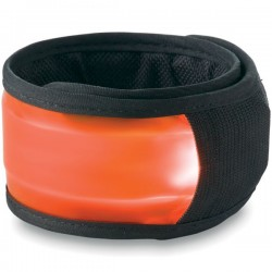 Arm snap strap with light