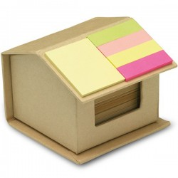 RECYCLOPAD - House shaped cardboard box