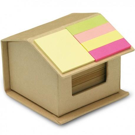 RECYCLOPAD - House shaped cardboard box