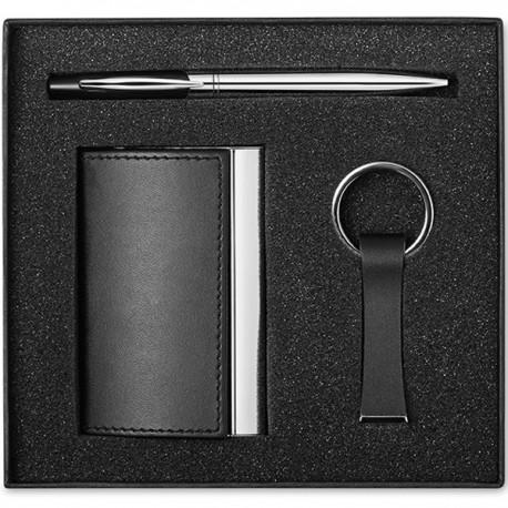 KADEAU - Business gift set including metal twist ball pen
