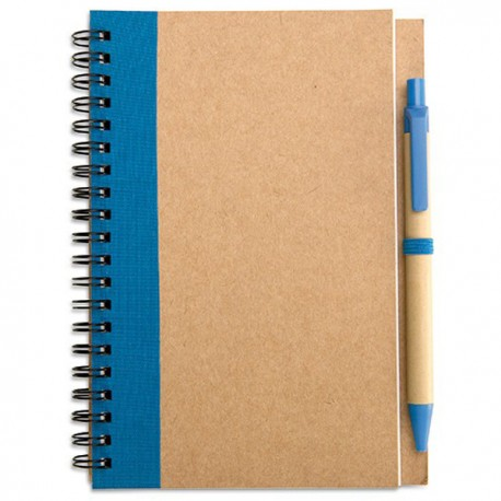 SONORA PLUS - Notebook with 70 pages of blank recycled paper