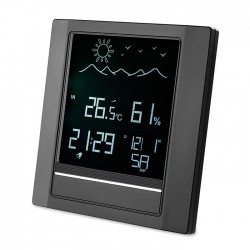 Weather station with alarm clock