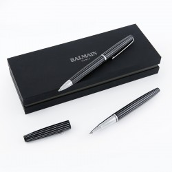 Balmain giftset with roller and ball point pens