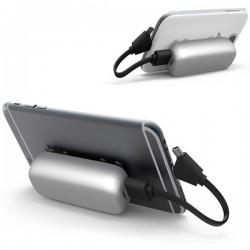 Portable external power bank for smartphone