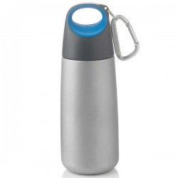 Mini bottle with carabiner